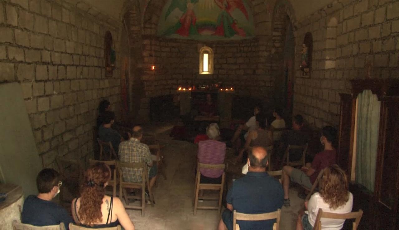 Merlant celebra el tercer aplec, amb un concert meditatiu